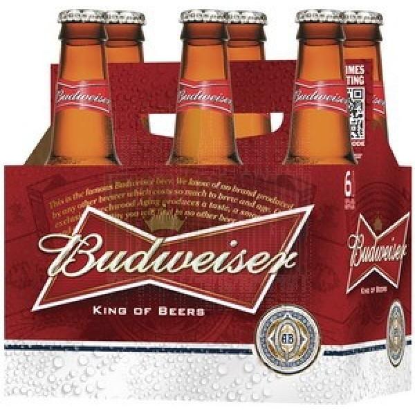 Budweiser btl 6 pk