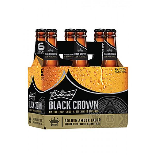 Budweiser Budweiser Black Crown 6pk