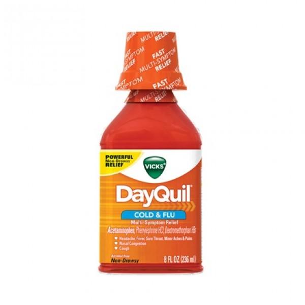 Vicks Vicks DayQuil Cold & Flu 8 oz
