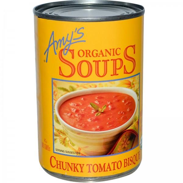 Amys Amys Organic Soups Chunky Tomato Bisque