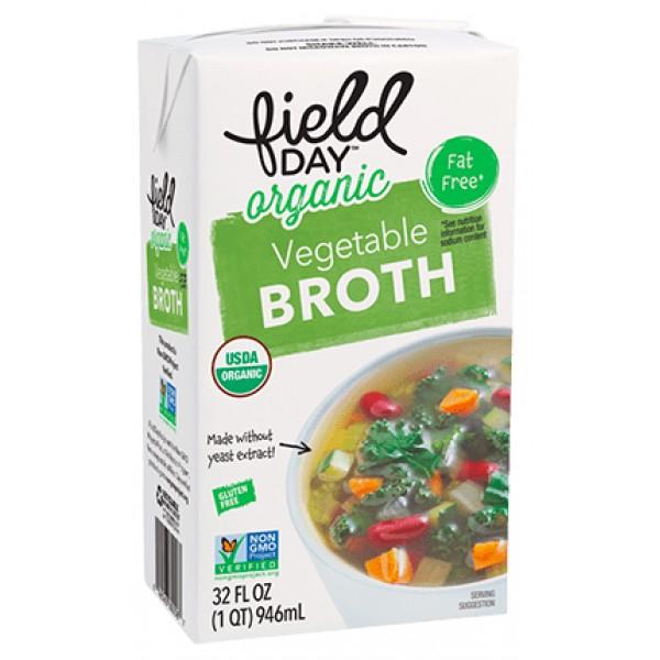 Field Day Field Day Vegetable Organic Broth 32 oz