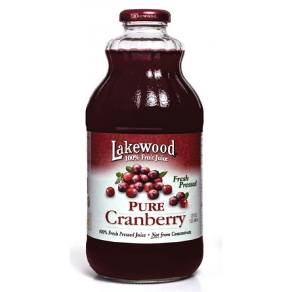 Lakewood Lakewood Pure Cranberry Juice 32 oz