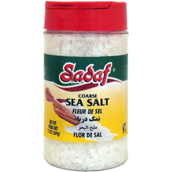 Sadaf Sadaf Seasoning Sea Salt 13 oz