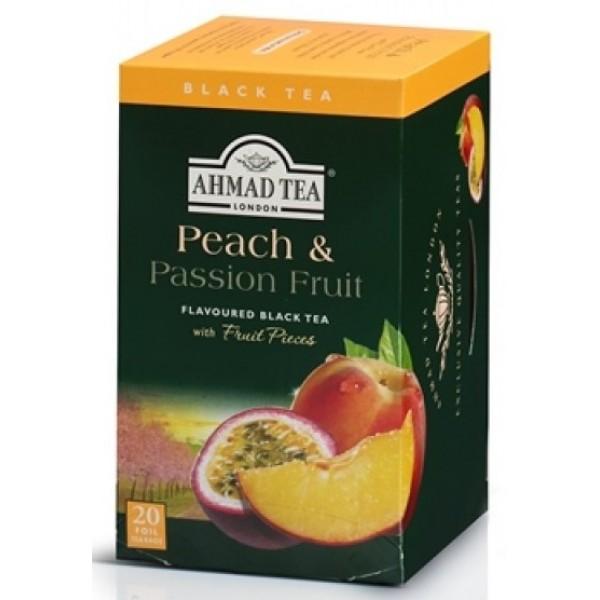 Ahmad Ahmad Tea Peach/Passion Fruit Black 20 ct