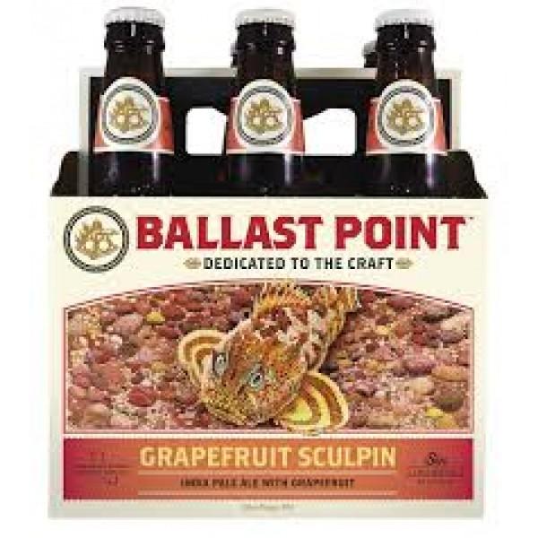 Ballast Point Ballast Point Grapefruit Sculpin 6 pk