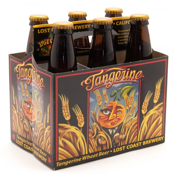 Lost Coast Brewery Lost Coast Tangerine Wheat Ale 6 pk