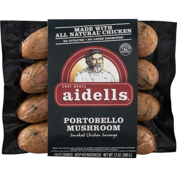Aidells Aidells Sausage Portobello Mushroom 12 oz