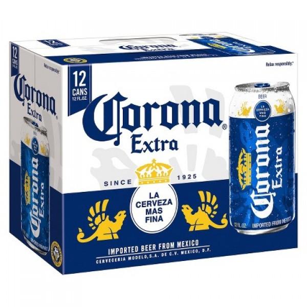 Corona Extra 12 pk can 12 oz