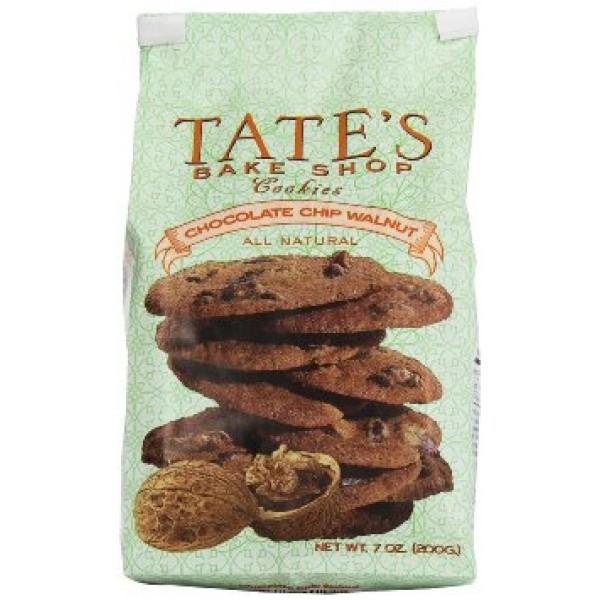 Tates Cookies Chocolate Chip Walnut 7 oz