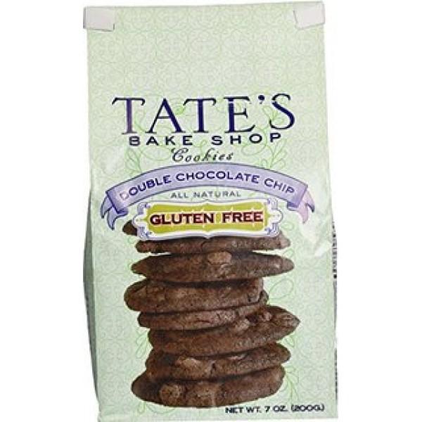 Tates Tates Double Chocolate Chip Gluten Free 7 oz