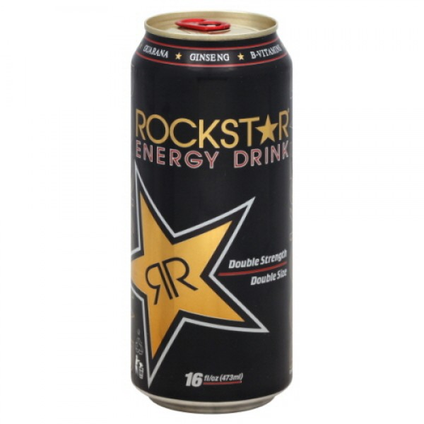 Rockstar Rockstar Sparkling Peach Energy Drink 16 oz