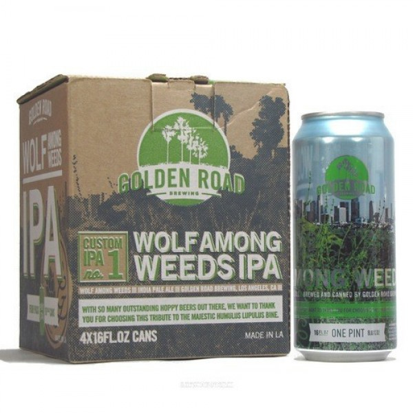 Golden Road Golden Road Wolf Among Weeds IPA 4 pk