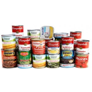 Canned food/Soups
