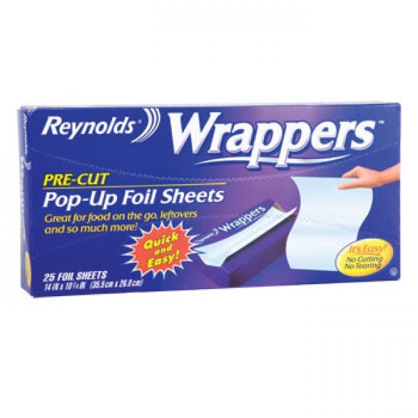Reynolds Reynolds Wrapper Foil Sheets 25 Sheets