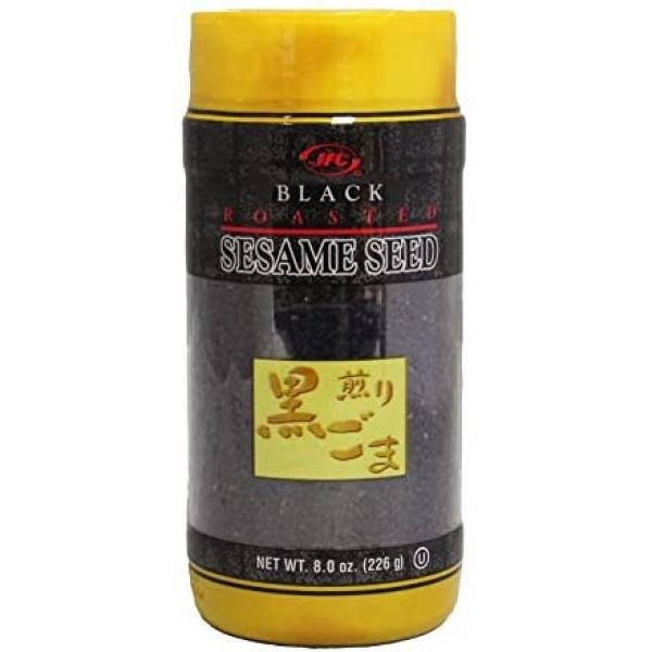 JFC Black Roasted Sesame Seed 8oz