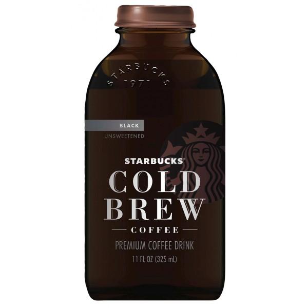 Starbucks Cold Brew Black 11 oz