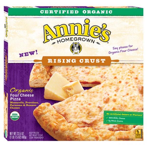Annies Annies Rising Crust Four Cheese Pizza 22.5 oz