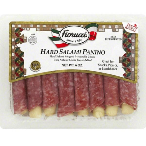 Fiorucci Hard Salami Panino 6 oz
