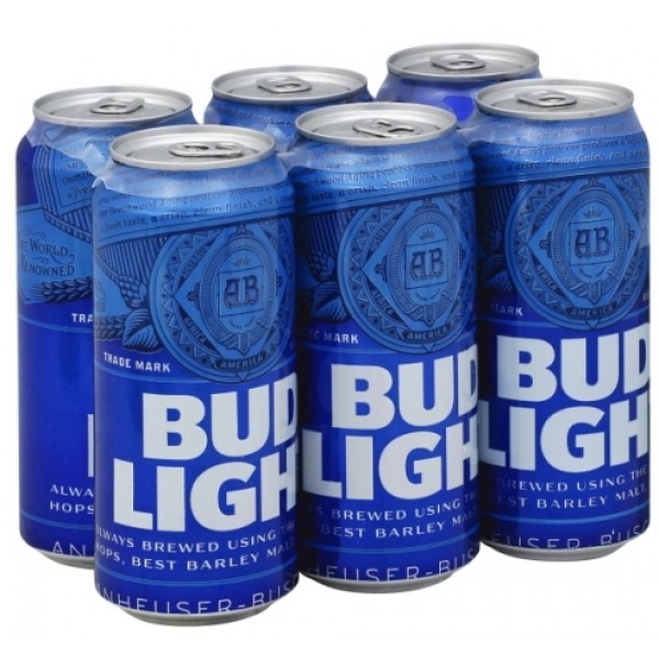 Bud Light Bud Light can 6 pk