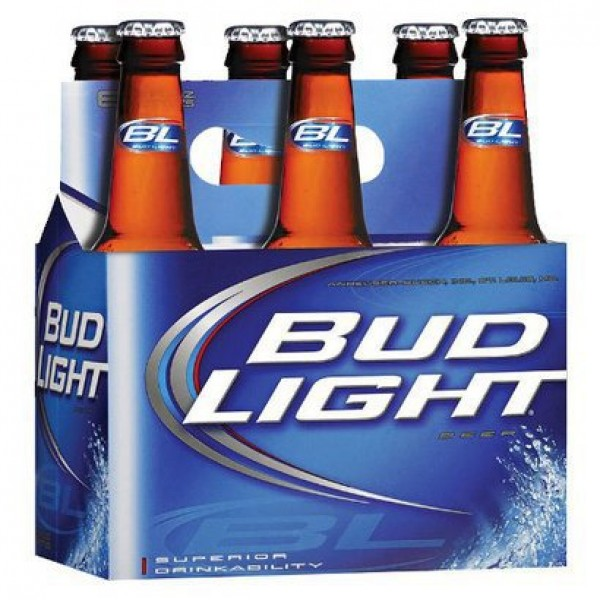Bud Light Btl 6 pk