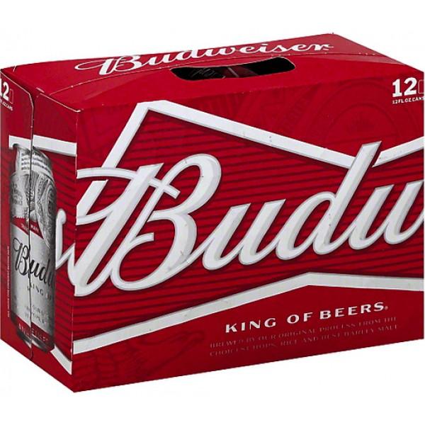 Budweiser Budweiser 12 pk Can