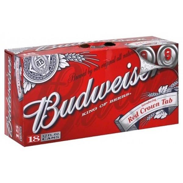 Budweiser Budweiser 18 pk can