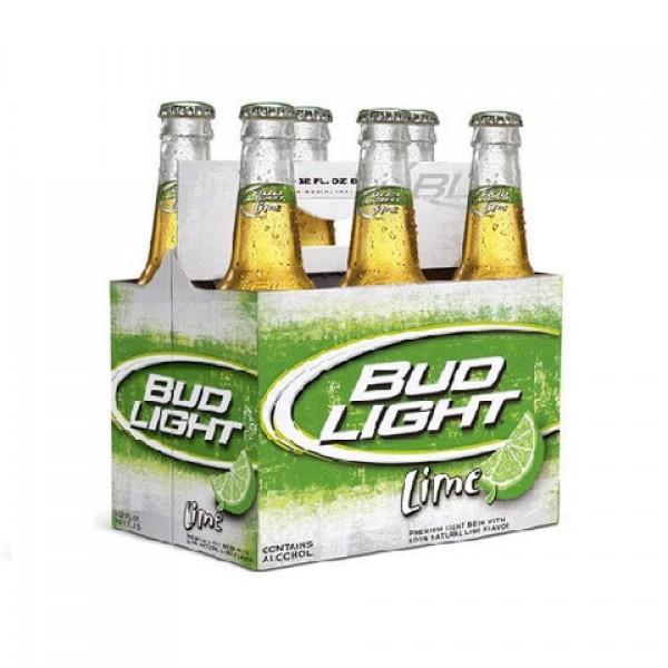Bud Light Lime Btl 6 pk
