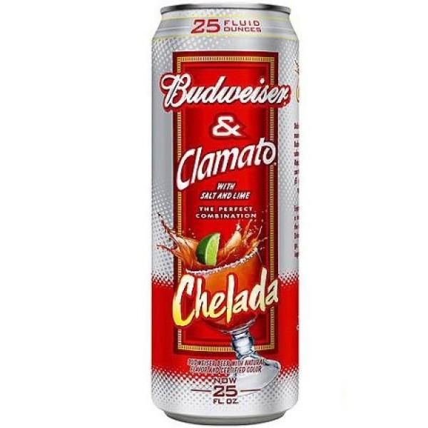 Budweiser Budweiser  Clamato Chelada 25 oz