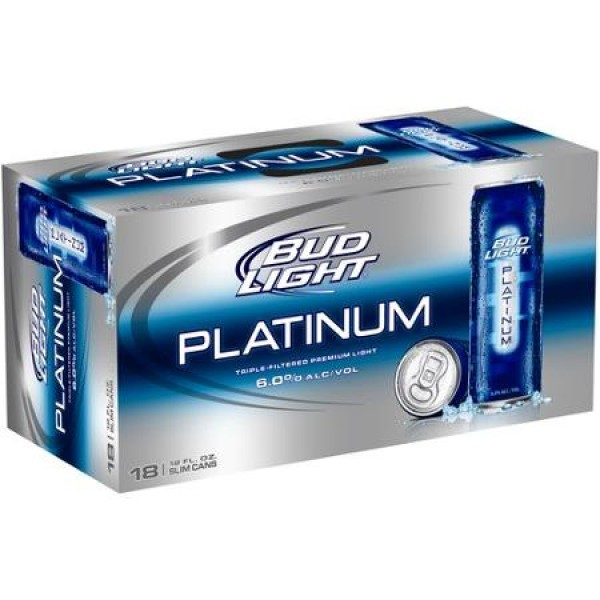 Bud Light Bud Light Platinum Can 18 pk