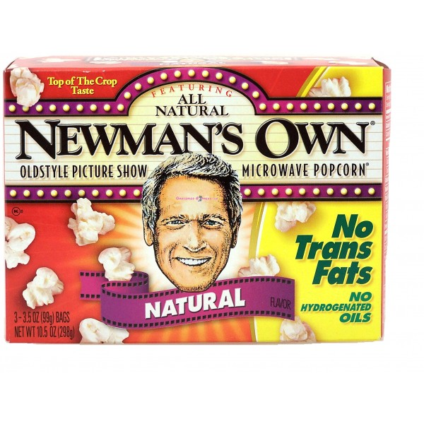 Newmans Own Newmans Own Natural Popcorn 3 pk