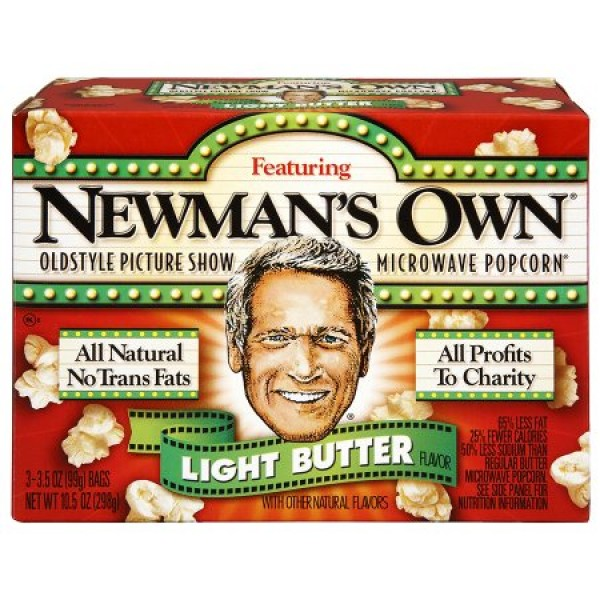 Newmans Own Newmans Own Light Butter Popcorn 3pk