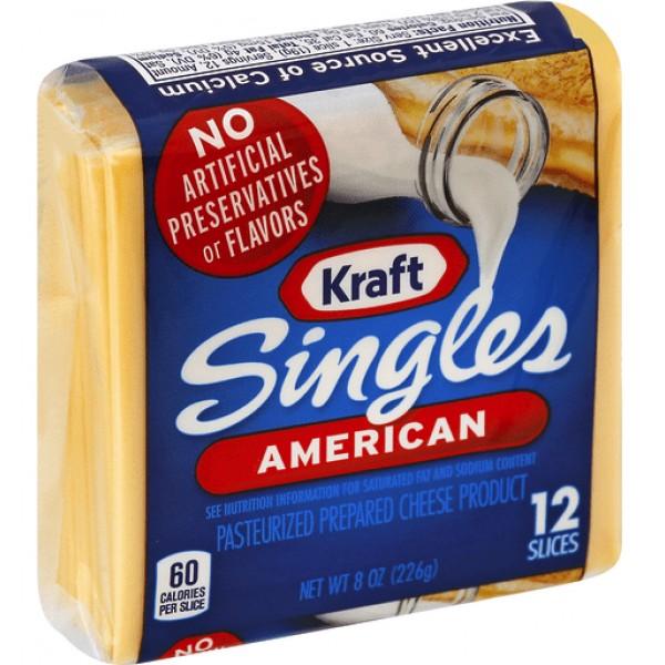 Kraft American Singles 12 ct