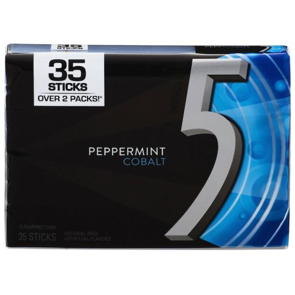 5 Gum Peppermint Cobalt 35 sticks
