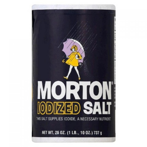 Morton Morton Iodized Salt 26 oz
