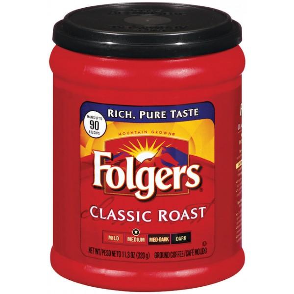 Folgers Classic Roast Coffee 11.3 oz