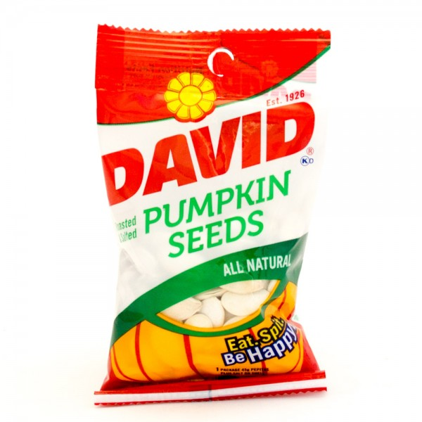 David David Pumpkin Seeds 2.25 oz