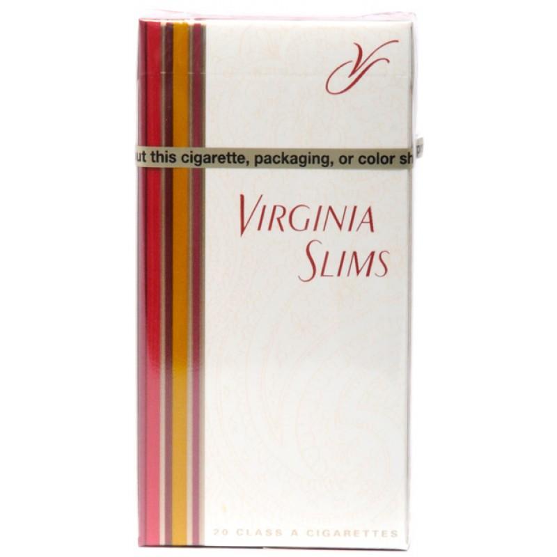 вирджиния слимс сигареты цена
