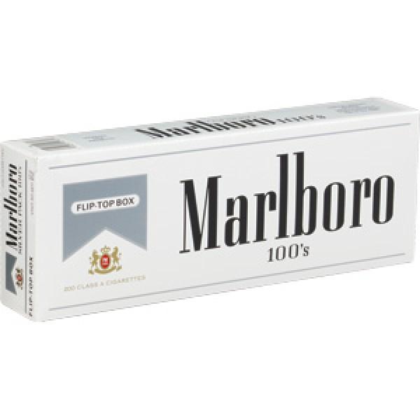 Marlboro Marlboro silver 100s 10 ct