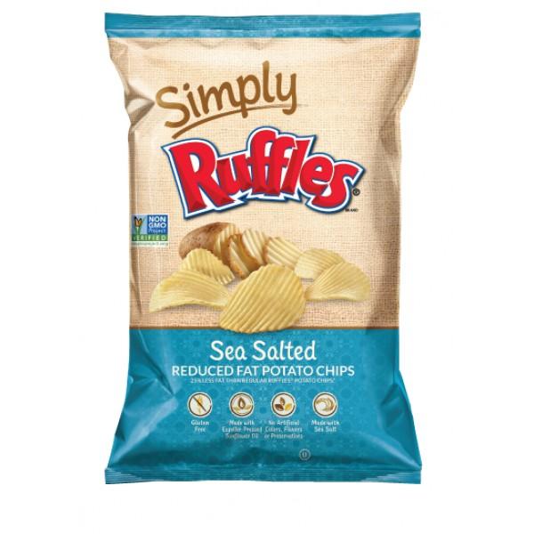 Simply Ruffles Simply Ruffles Sea Salt Red Fat