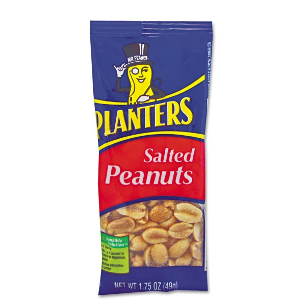 Planters Planters Salted Peanuts 1.75 oz