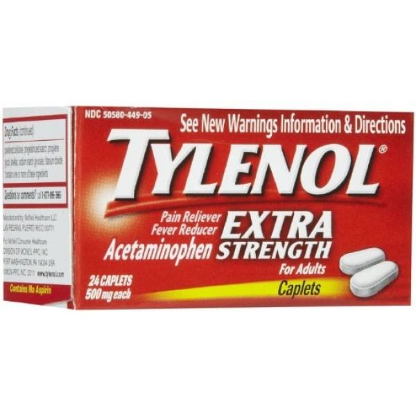 Tylenol Tylenol Extra Strength 24 Caps