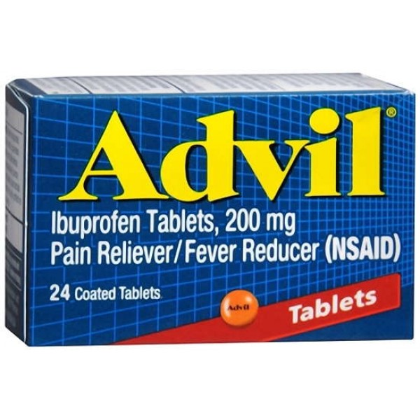Advil Advil Tablets 24 Tablets