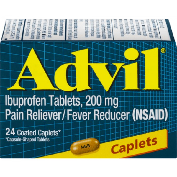 Advil Ibuprofen 24 caplets
