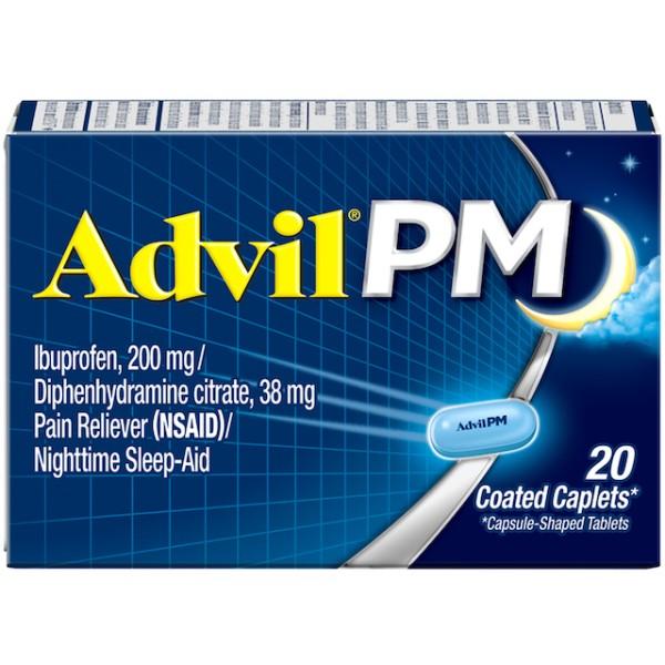 Advil PM Ibuprofen 20 caplets