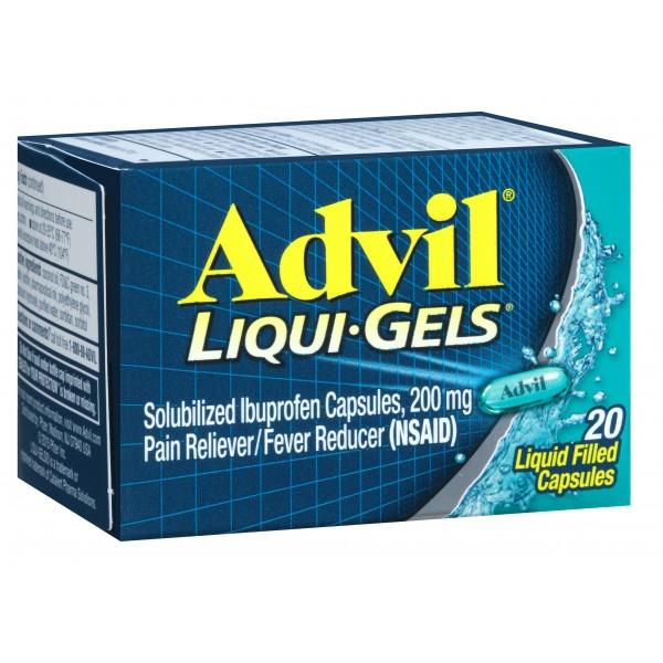 Advil Liqui-Gels 20 ct