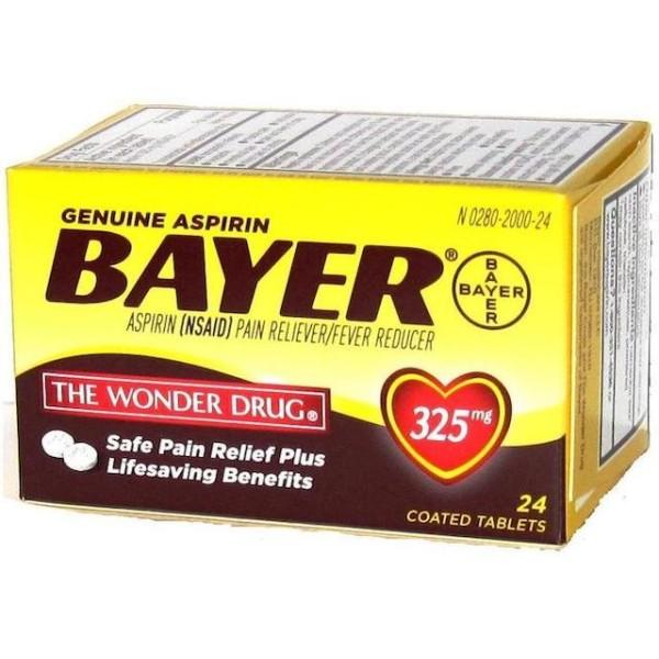 Bayer Aspirin 24 ct