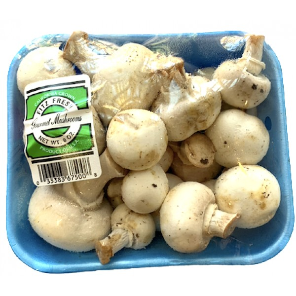 Global Fresh whole Mushrooms 8 oz