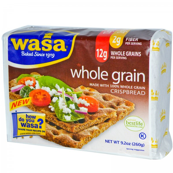 Wasa Wasa Whole Grain Crispbread 9.7 oz