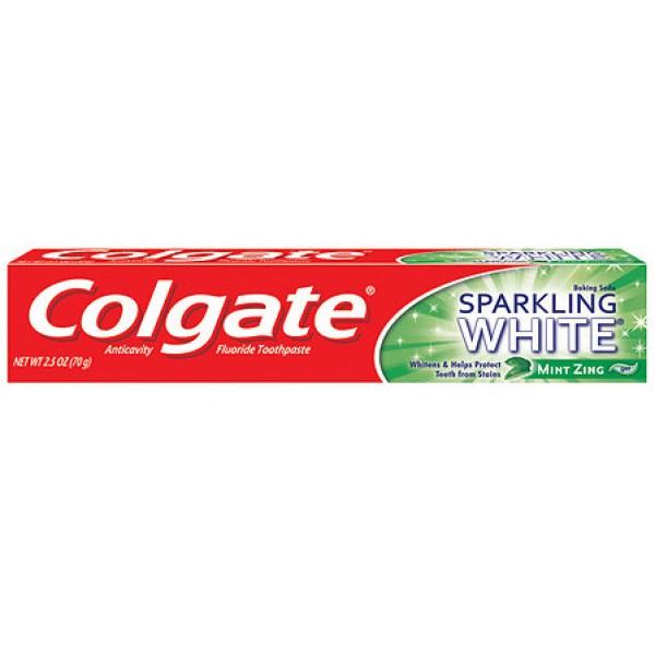 Colgate Sparkling White Mint 2.5 oz