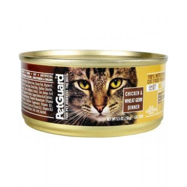 Pet Guard Pet Guard Chicken & Wheat Germ Dinner 5.5 oz